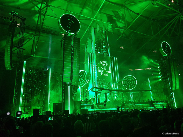 WIcreations Launches New WImotion System for Rammstein Spectacle