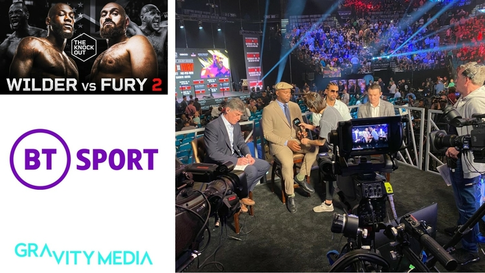GRAVITY MEDIA DELIVERS KNOCK-OUT COVERAGE OF WILDER vs FURY 2 FOR BT SPORT