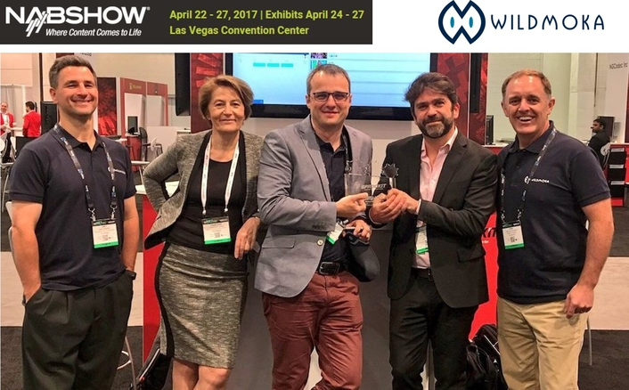"Wildmoka named ""Best of SPROCKIT Start-up"" at NAB Show"