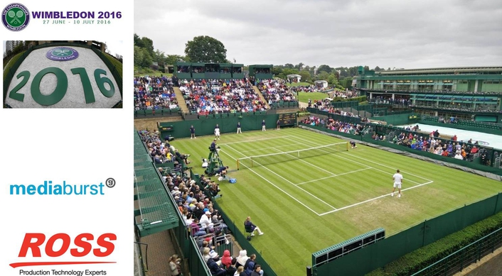 Mediaburst Chooses Ross Video to Support Wimbledon Coverage