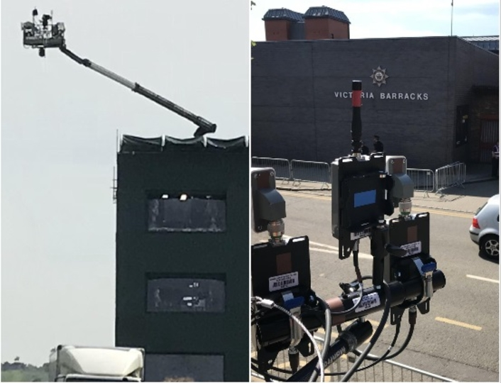Live Royal Wedding - BSI provides 4K UHD Real Freedom RF cameras for the Windsor Long Walk overhead shot and route cameras