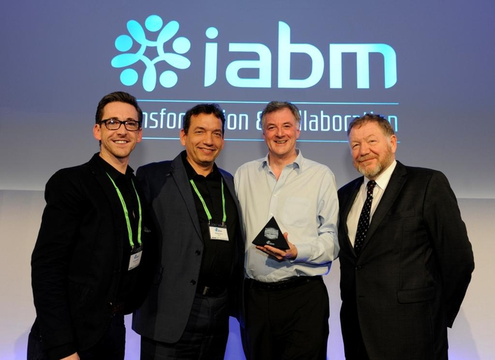 Sony's Media Backbone Hive wins prestigious IABM Peter Wayne Award for Design and Innovation