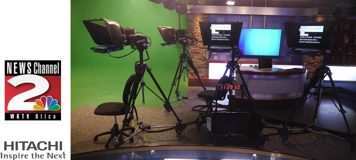 WKTV Elevates Live Newscast Quality with Hitachi HDTV Cameras