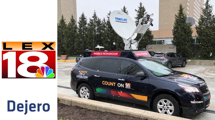 Dejero and Frontline Deliver Unique Connectivity Choices in News Production SUV for WLEX-TV