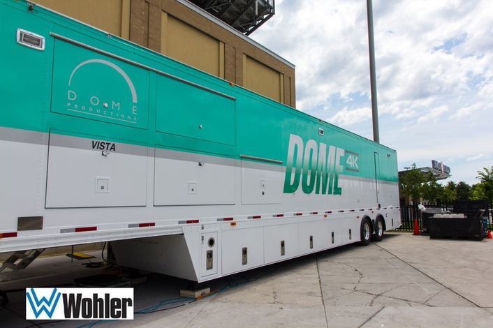 WOHLER TAKES A RIDE IN DOME PRODUCTIONS'  NEW VISTA 4K TRUCK
