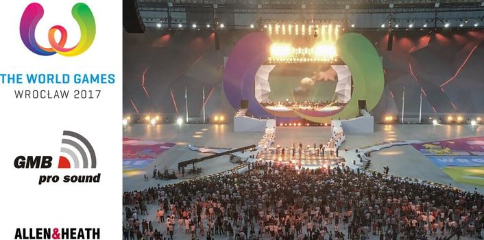ALLEN & HEATH'S DLIVE AT THE WORLD  GAMES IN POLAND
