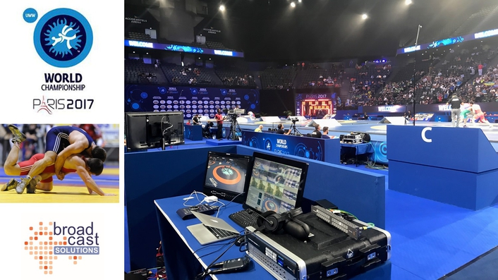 videoReferee® the Overall Video Judging System During 2017 Wrestling World Championships Paris