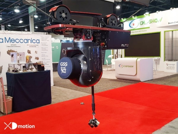 Stop by XD motion and GSS booth 12.E56 and meet Benoit DENTAN