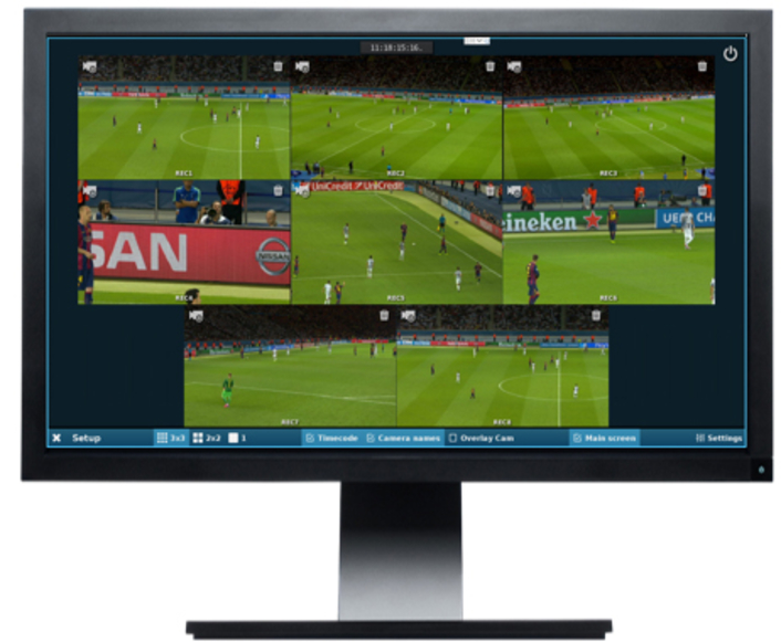 Following the move to its new 60,000 seat stadium, French football club Olympique Lyonnais has installed EVS' FanCast solution and its DYVI IT-based switcher to enhance engagement with its fans
