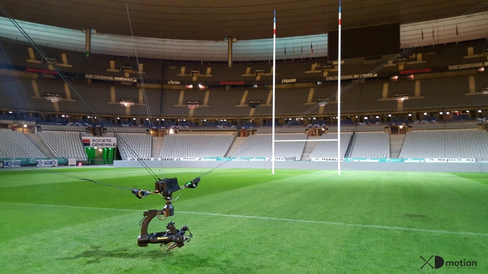 XD motion at the Rugby Six Nations 2016