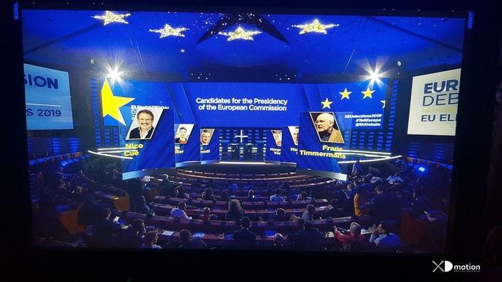 Paladin™ Blue for European Union Parliament Elections