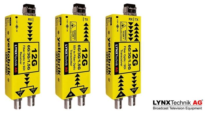 LYNX Technik Launches 12G Capable yellobriks