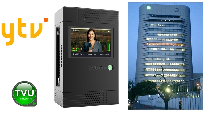 Japan's Yomiuri TV Selects TVU One with HEVC for Live Video-Over-IP Remote News Coverage
