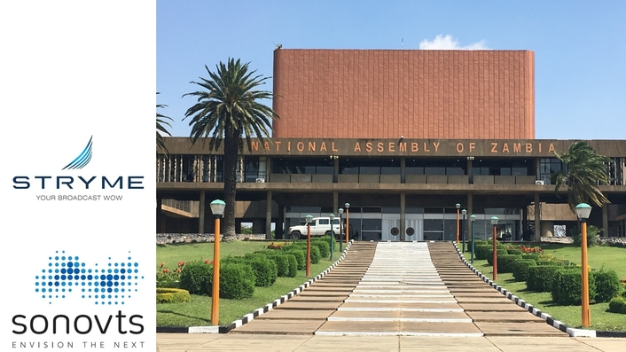 Good governance: STRYME & sonoVTS bring Zambian Parliament live to the people