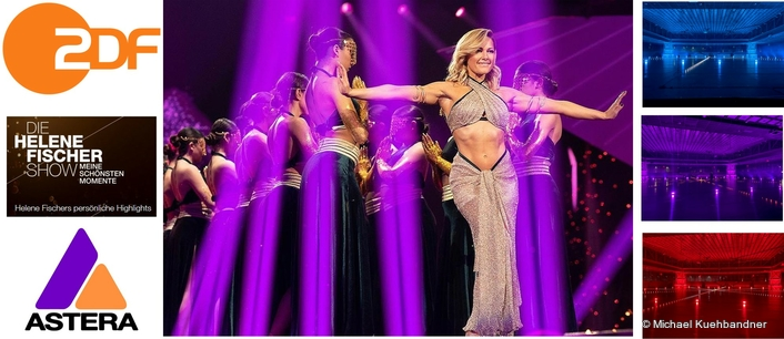Astera Adds Festive Sparkle for  Helene Fischer Christmas Special TV Show