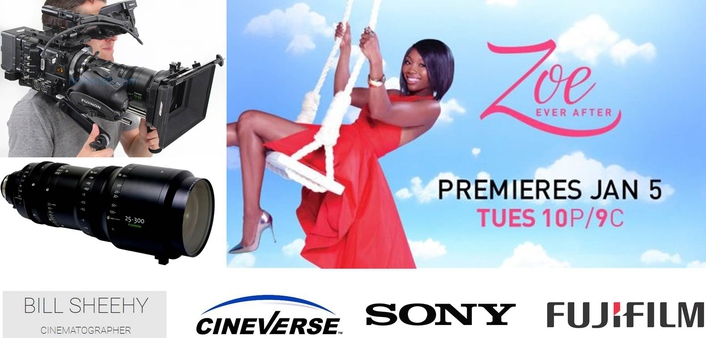 """Shooting """"Zoe Ever After"""" in Efficient, Single-Camera Style with FUJINON Lenses andSony F55 Cameras"""