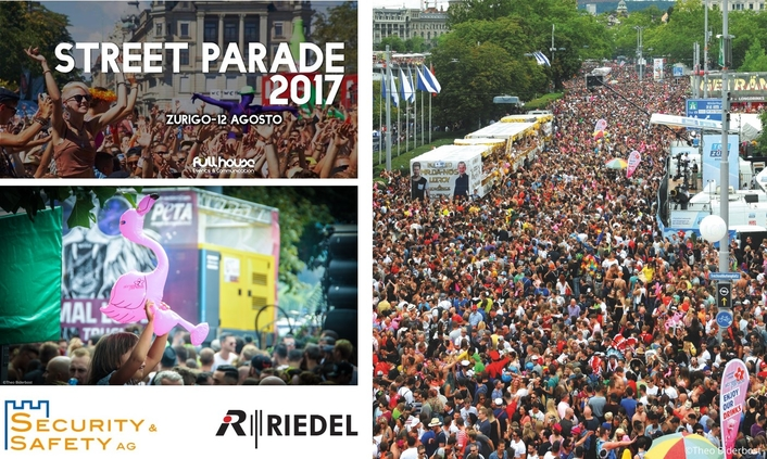 Zurich's Gigantic Street Parade
