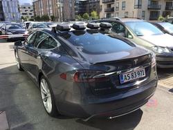 New IP Bridge Technology Powers Live Production Studio in a Tesla Electric Car