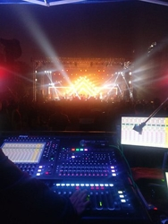 DiGiCo SD10 pumped up Bollywood Music Project 2018
