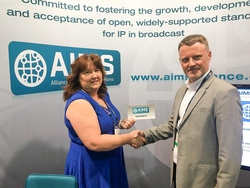 Double first for AIMS at NAB with Broadcast Solutions and EMG