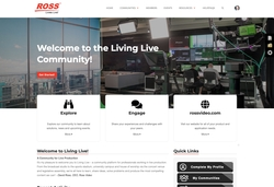 Ross Launches Living Live Community Platform for Live Production