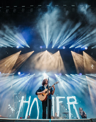 """""""With the stages mere feet away from the 80-degree waters of the Gulf, having a lighting system celebrate that seemed the right choice,"""" Gosnell said.   Bandit also provided festival support for the sets of Travis Scott, The 1975, Kygo and Vampire Weekend"""