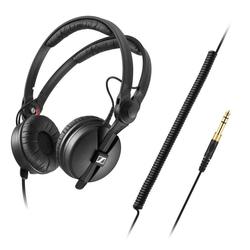 The Sennheiser HD 25 PLUS enhances the classic monitoring headphones
