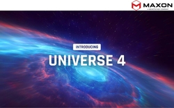 Maxon Announces the Immediate Availability of Universe 4.0