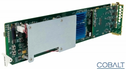 Cobalt's New Space-Saving 9926 HDMI-to-SDI / 9927 SDI-to-HDMI Conversion Cards Come Complete with Built-in Frame Syncs and Loads of Features