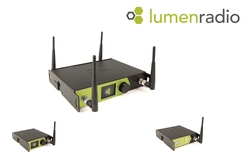 LumenRadio presents the next generation of CRMX products with three new indoor units