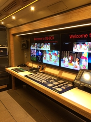 4K UHD Production Capabilities in Cost-Effective, Easily Scalable Configuration Creates Revolutionary New OB Concept