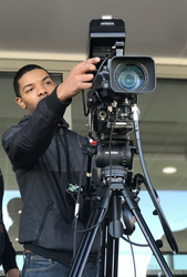 """When it came time to upgrade the department's educational television studio, the Hitachi cameras were again a natural fit. """"Our previous studio cameras were not professional-grade and were due for replacement, so we needed to upgrade to make everything fu"""