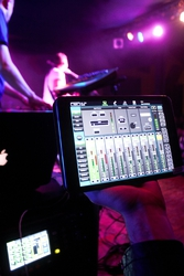 """""""Qu-Pac is a great mixer offering dynamic management control options, which can be accessed via the iPad app or the mixer's touchscreen. This enables very fast operation, and the possibility to include several operators or places, such as monitor or FOH p"""