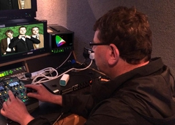 Leader LV5490 Checks the UHD Detail in NEP Visions Production from London's West End