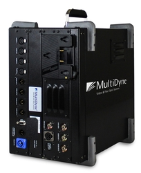 MultiDyne LiGHTCuBE, SMPTE-HUT provide long distance, lightweight fiber optic signal transport in stadium locations, significantly reducing the time and energy needed by Ross crews to set up and teardown for games
