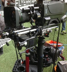 Pitch-side AR graphics deployed over Steadicam for new football season