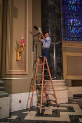 Cathedral Basilica of Saints Peter and Paul Modernizes AV Setup for Papal Visit with RGB's Installation Powered by AJA Gear