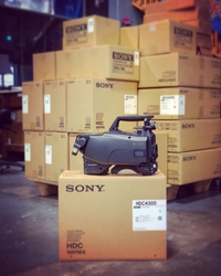 Multiple Sony HDC-4300 native 4K cameras—ideal for sports and entertainment events—are now available on TNDV's 4K mobile unit, Exclamation