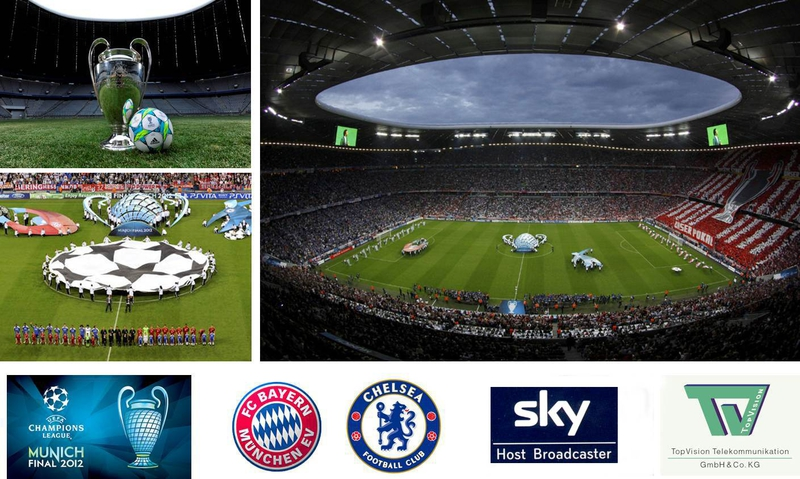uefa champions league final 2012 world feed in hd and 3d live production tv uefa champions league final 2012 world