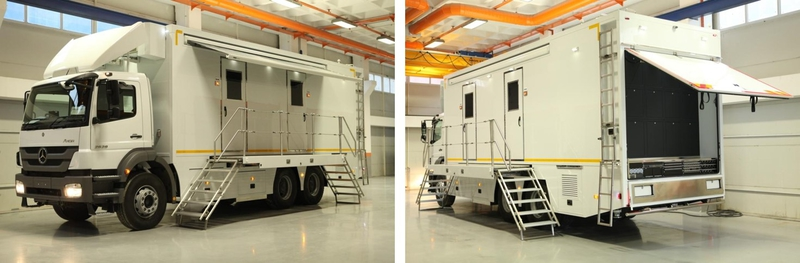 Compact OB Vehicles   LIVE-PRODUCTION TV