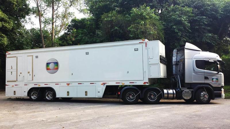OB Trucks: TV Globo UM7 | LIVE-PRODUCTION TV