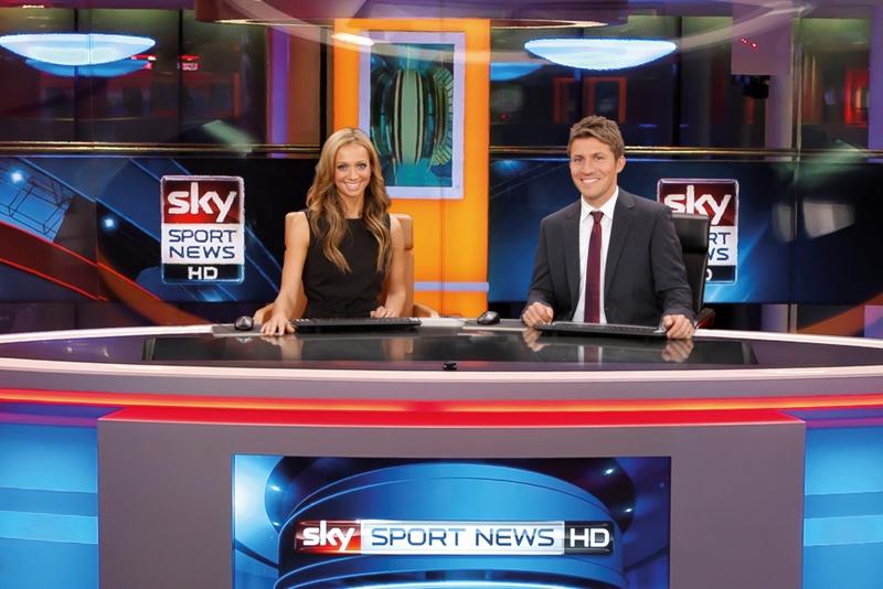 super popular ab82a 4448b Production Studios  Sky Sport News Studio   LIVE-PRODUCTION.TV