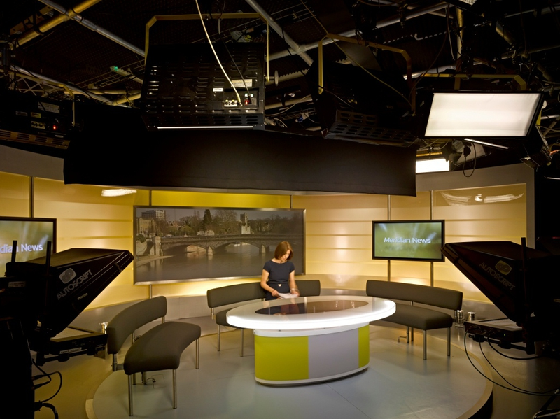 Production Studios Itv Meridian Live Production Tv