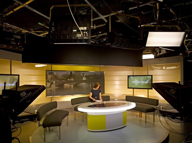 Production Studios Itv Meridian Live Production Tv
