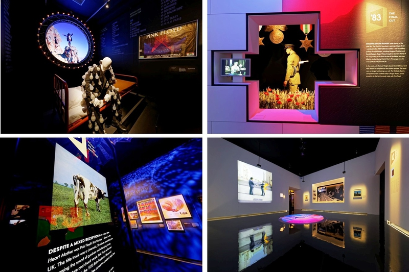 The pink floyd exhibition their mortal remains live for Pink floyd exhibition
