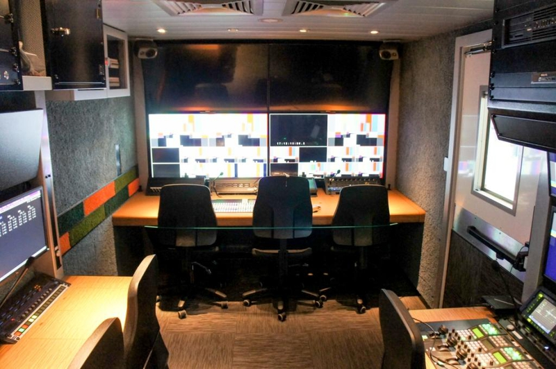 Ob trucks nep germany hd34k live production tv for Interphone interieur