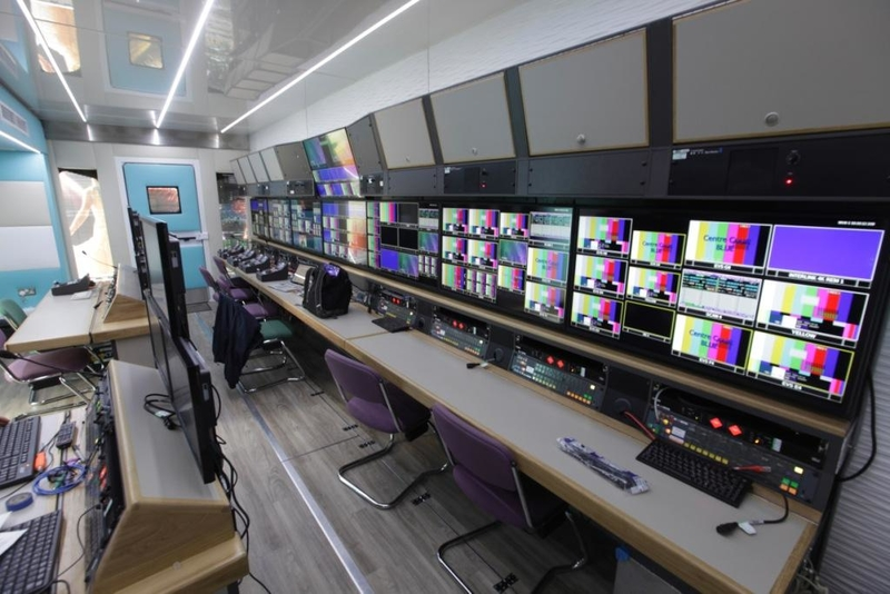 OB Trucks: NEP Broadcast Services UK Pacific | LIVE