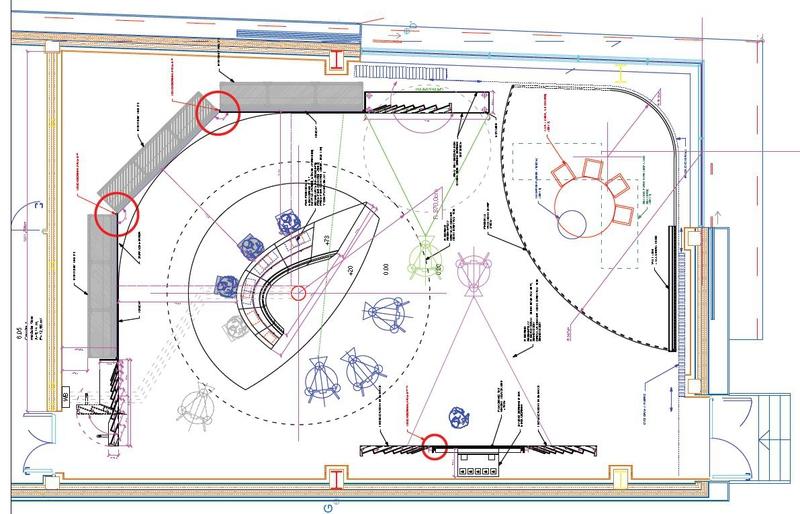 Production studios al jazeera balkans news studio live for Studio layout plan