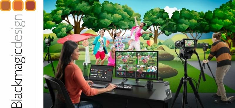 Blackmagic Design Announces New Atem Mini Pro Live Production Tv