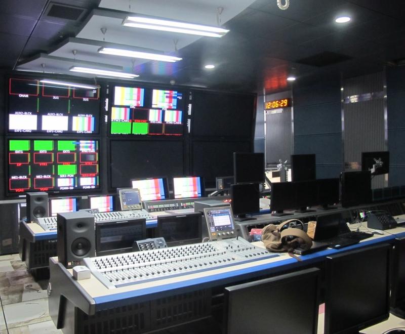 Production Studios: BTV 150m² Studio   LIVE-PRODUCTION TV
